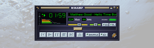 Winamp Screenshot